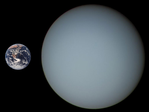 "14 de Julio... ""Dia de ""Plutón""""... 490px-Uranus_Earth_Comparison"