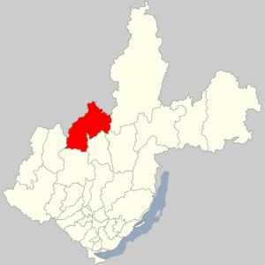 Ust-Ilimsky District - Image: Ust' Ilimskij Rajon Irkutsk Oblast