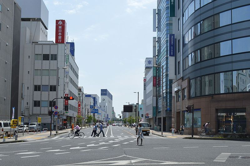 File:Utsunomiya Ikegami-cho intersection ac.JPG