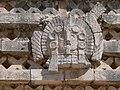 Uxmal - Quadrangulo de las Monjas - Östlicher Palast 4 Maske des Tlaloc.jpg
