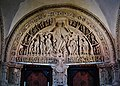Vézelay Basilique Ste. Marie Madeleine Innen Paradies Portal Tympanon.jpg