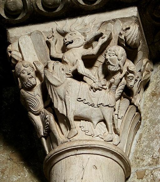 Vézelay Nef Chapiteau 230608 17