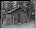 VIEW SOUTH - Snowlodge, Tourist Cabin Type F No. 440, 460' southwest of Snowlodge, West Thumb, Teton County, WY HABS WYO,20-OFAIT,3I-1.tif