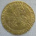 Valois, giovanni II il buono, franco col cavallo, 1350-1364.JPG