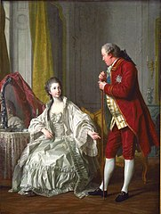 Portrait of the Marquis de Marigny and his Wife, Marie-Francoise Constance Julie Filleul