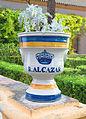 Vase gardens Alcazar Seville Spain.jpg