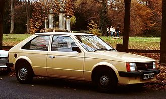 Vauxhall Astra - Vauxhall Astra Mark 1 2-door