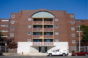 Guild House (Philadelphia) - South elevation, 2011