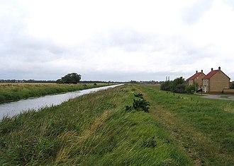 Spalding, Lincolnshire - Vernatt's Drain north of Spalding