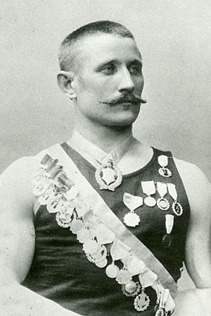 Verner Järvinen - Image: Verner Järvinen signed
