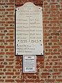 Verneuil-sur-Serre (Aisne) plaque monument aux morts sur la mairie.JPG