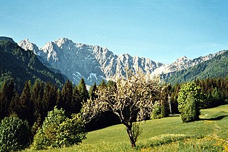 Karawanks - Boden Valley and the Vertatscha/Vrtača