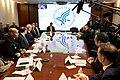Vice President Pence meets with the Coronavirus Taskforce (49596328246).jpg