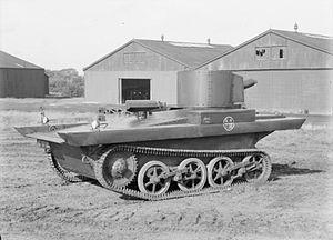 Vickers-Carden-Loyd Light Amphibious Tank - Image: Vickers Light Amphibious Tank