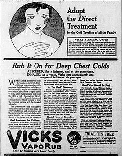 Vicks VapoRub Mentholated topical ointment