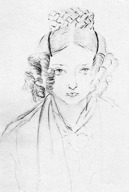 Victoria sketch 1835