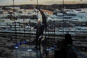Roberto Saviano - Roberto Saviano during a Rai 3 television program.