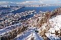 View Bergen Floibanen Floyen Winter 2009.JPG