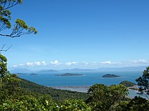 Dunk Island--View from Mount Kootaloo