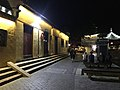 View in front of Huguo Suiliangwang Temple in Xitang Town at night.jpg