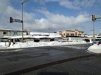 View of Takayama Station 20150123.JPG