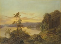 View of Ulriksdal (Kung Karl XV) - Nationalmuseum - 21703.tif