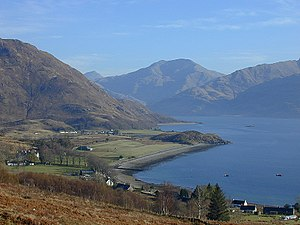 Arnisdale - Looking over on Arnisdale and Loch Hourn
