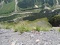 View to the bottom of Baksan canyon. July 2007. - Вид на дно Баксанского ущелья. Июль 2007. - panoramio.jpg