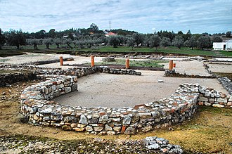 Torres Novas - The ruins of the Roman villa of Cardílio
