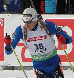 Vincent Jay in Antholz, 2010