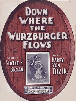 Vincent P. Bryan - Vincent P Bryan  Down Where The Wurzburger Flows