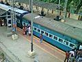 Visakhapatnam - Bhubaneshwar Intercity Express at Simhachalam 01.jpg