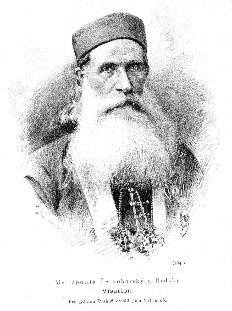 Visarion Ljubisa 1884 Vilimek
