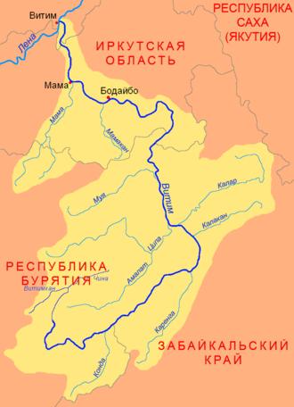 Vitim River - Image: Vitim