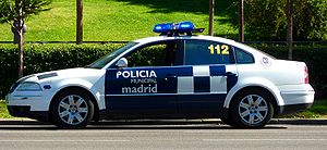 Municipal police - Policía Municipal of Madrid (Spain)