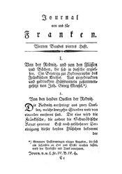 Von der Rednitz, und von den Flüssen und Bächen, die sich in dieselbe ergiessen, S. 393-422.