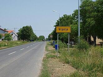 D7 road (Croatia) - D7 in Vrpolje