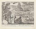 Vuurtoren van Alexandrië Septem orbis admiranda (serietitel) De zeven wereldwonderen (serietitel), RP-P-OB-38.218.jpg