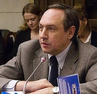 Vyacheslav Nikonov Russian political scientist
