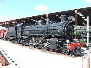 Australian Railway Historical Society - P508 at the Western Australian Rail Transport Museum in April 2006