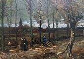 WLANL - jankie - Populierenlaan bij Nuenen (detail), Vincent van Gogh (1885).jpg