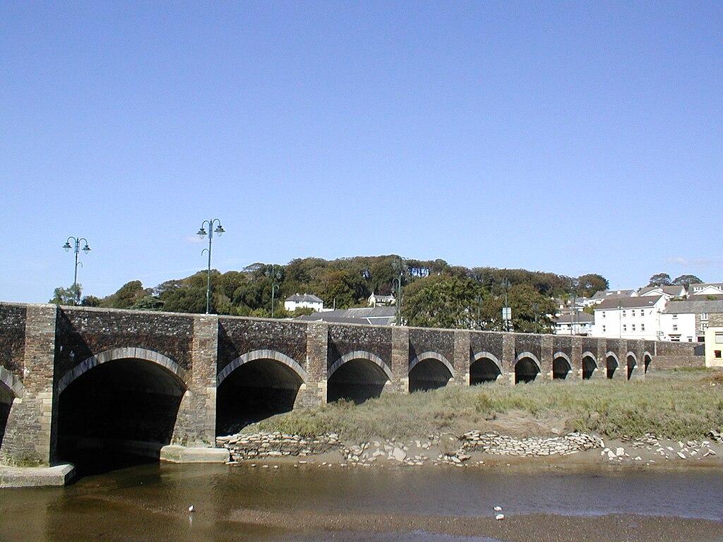 Wadebridge_The_old_Bridge