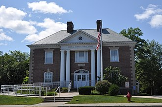 Carroll County, New Hampshire - Image: Wakefield NH Carroll County Courthouse
