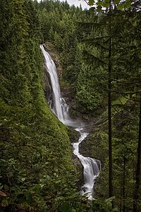 Wallace Falls State Park — Middle Wallace Falls.jpg