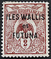 Wallis and Futuna overprint Stamp 2c.jpg