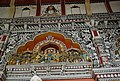 Walls of Durbar Hall with intricate paintings in Thanjavur Palace.jpg