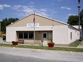 Walton City Hall in Walton, Kansas.jpg