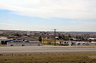 Wamsutter, Wyoming Town in Wyoming, United States