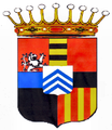 Wappen der Grafen von Braida vor 1835 (vermehrtes Wappen).png