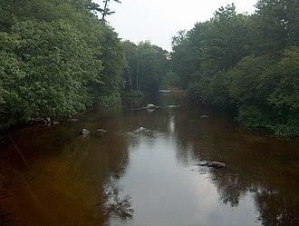 Warner River - The Warner River in Warner, New Hampshire